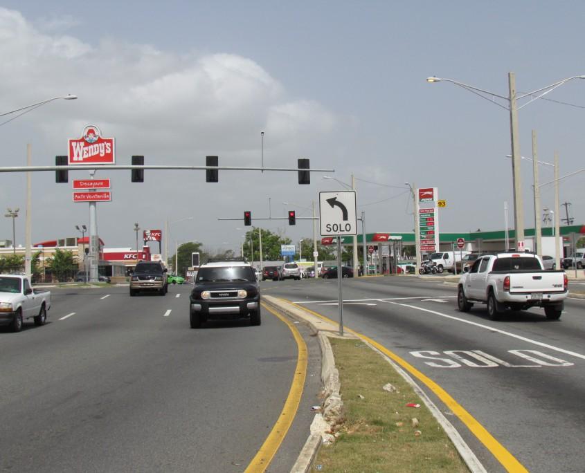 PR 174 Circular Traffic Pattern